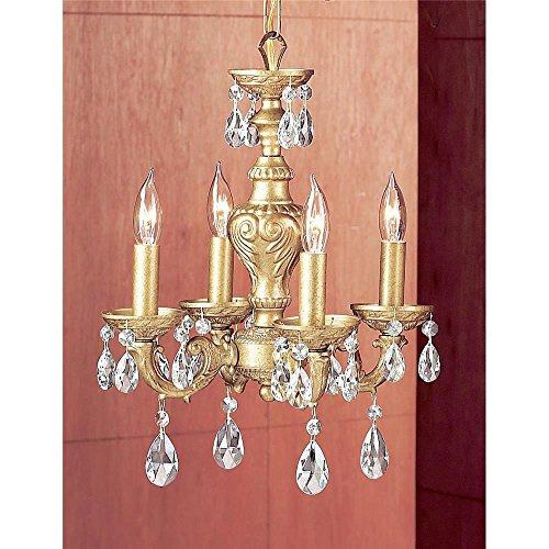 - Classic Lighting 8334 OG PRO Gabrielle Mini-Chandelier