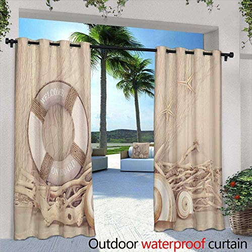 Balcony Curtains,Leather Craft for Wallet Working with Tool on Leather craftman s Work Desk,W96 x L108 Outdoor Curtain Waterproof Rustproof Grommet Drape