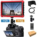 Lilliput A7S 7 1920x1200 IPS Screen Camera Field Monitor 4K 1.4 HDMI Input output Video For DSLR Mirrorless Camera SONY A7S II A6500 Panasonic GH5 Canon 5D Mark IV by LILLIPUT OFFICIAL SELLER VIVITEQ