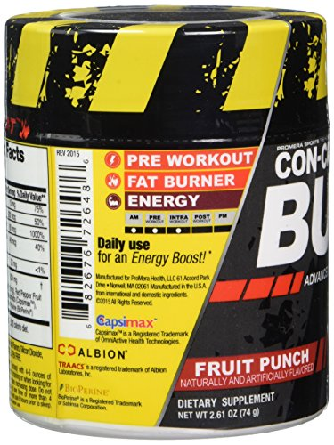 CON-CRÉT® BURNTM ADVANCED THERMOGENIC BOOSTER