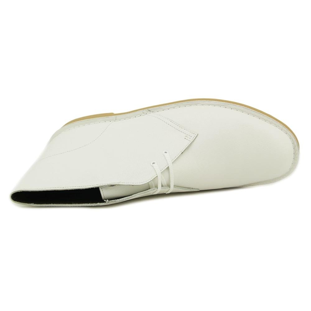 Clarks Desert - Herren Bushacre 2 Desert Clarks Boots White Perforated 8401a3