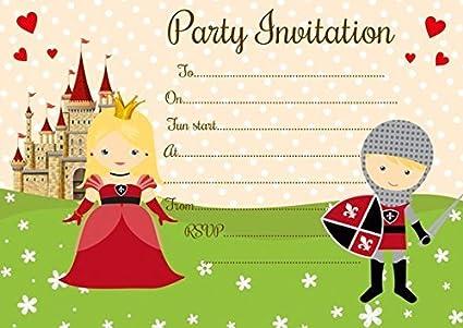 Amazon Com 10 X Joint Children Birthday Party Invitations
