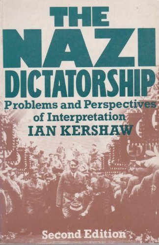 The Nazi dictatorship: Problems and perspectives of interpretation ()