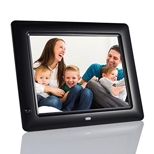 NEXGADGET 8 Inch Digital Photo Frame With Motion Sensor, Remote ...