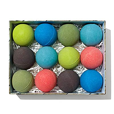 Men's Bath Bomb Gift Set of 12 by Crate Bombs