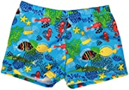 Dsood Toddler Baby Kids Boy Summer Print Swimwear Swimsuit Beach Pants Casual Clothes