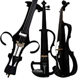 Leeche Handmade Professional Solid Wood Electric Cello 4/4 Full Size Silent Electric Cello-1802