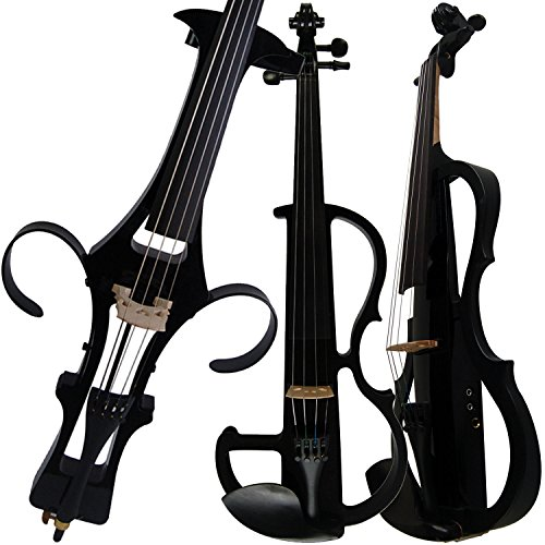 Leeche Handmade Professional Solid Wood Electric Cello 4/4 Full Size Silent Electric Cello-1802 by Leeche