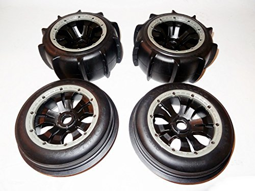 King Motor Buggy Sand Paddle Wheels (set of 4) Fits HPI Baja 5B SS 2.0 ()
