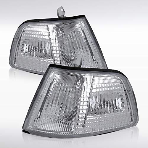 Jdm Clear Corner - Autozensation For Honda Civic 2dr/3dr JDM Clear Corner Turn Signal Lights