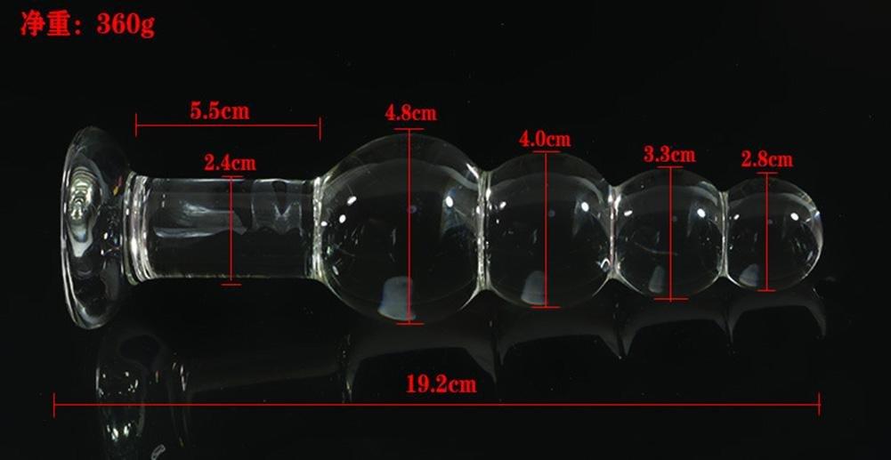 Productos adultos vidrio pagoda Masturbación cristal eróticas Abalorios Fuentes eróticas cristal parejas Pasión alternativa Juguetes sexuales 5b5d93