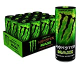 MAXX Monster Super Dry, Maximum Strength, Energy Drink, 12 ounce (Pack of 12)