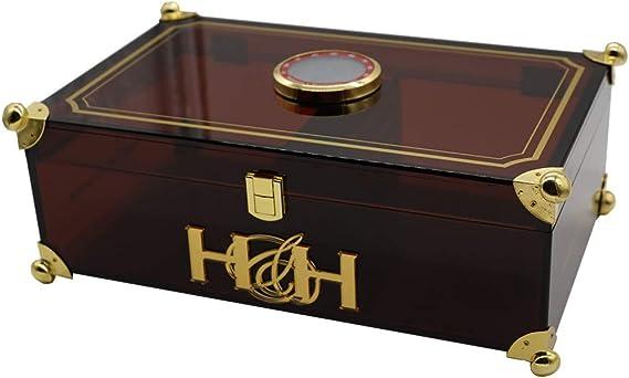 Prisma Collection - Cigar Humidors (Smoked Brown