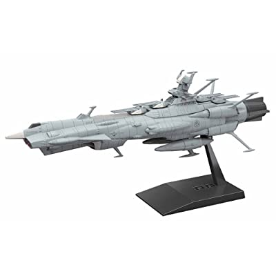 Bandai Mecha Collection Space Battleship Yamato 2202 U.N.C.F. AAA-1 Andromeda Model Kit (BAN219778): Toys & Games