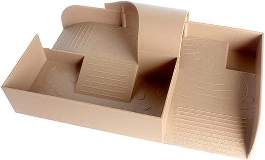 iBelly Área Juegos para Tortugas con Función Escalera Plataforma de Secado Recipiente de Alimentación Túnel Área de Baño Diversión Independiente para el Hogar: Amazon.es: Hogar