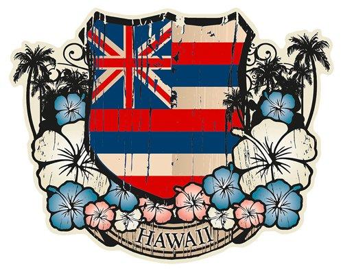 hawaii car emblem - 2