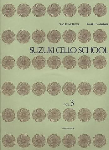 Suzuki Cello guidance Town one album (3) CD with (2011) ISBN: 4113250138 [Japanese Import] (Suzuki Book 8 Cello)