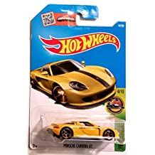 Hot Wheels 2016 Porsche Carrera GT HW Exotics Yellow 74/250, Long Card by Mattel