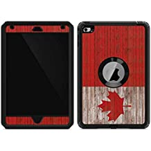 Countries of the World OtterBox Defender iPad Mini 4 Skin - Canadian Flag Dark Wood | Skinit Lifestyle Skin