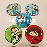 Adorable Pads G/J Tube Pad 5 Pack (Monkey)