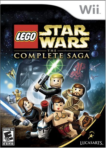 Lego Star Wars: The Complete Saga - Nintendo - Nintendo Movie Wii