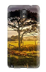 Excellent Design Green Ranch Case Cover For Galaxy Note 3