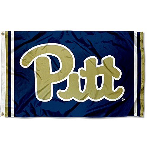 Pittsburgh Panthers Jersey Stripes Flag (Pittsburgh Panthers Jerseys)