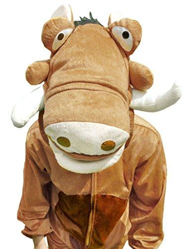 Fantasy World Adults Warthog Costume 8-10 / M Su01 (Adult M&m Costumes)