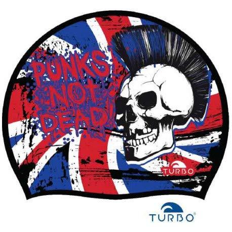 Turbo Gorro Nataci/ón Silicona England Punk 9701938 Silicone Cap