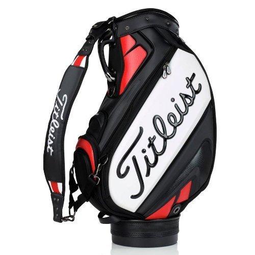 Titleist 2014 10.5 Staff Bag Black-Red
