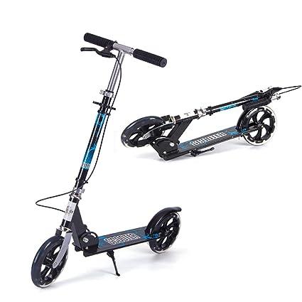 Patinetes Scooter De Ciudad para Adultos con Ruedas Grandes ...