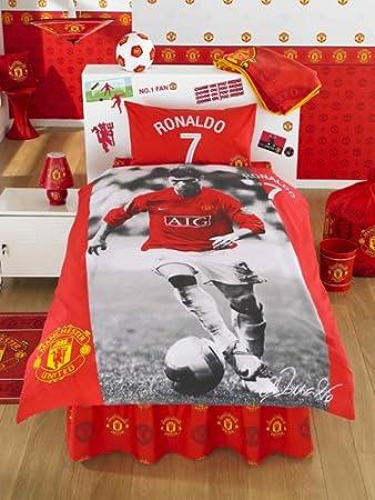 Manchester United Bettwasche Ronaldo Ca 140x200 Cm Amazon