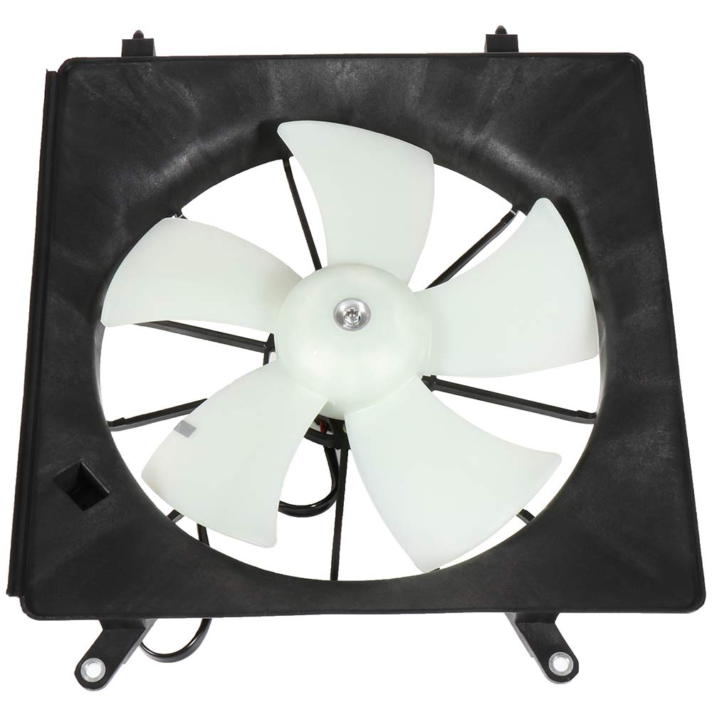 ECCPP Radiator or Condenser Cooling Fan Assembly Replacement fit for 2002-2006 Honda CR-V 2003-2011 Honda Element
