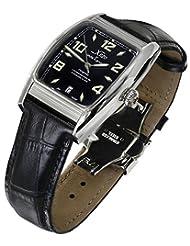 Xezo for Unite4:good Incognito Automatic Watch Made with Swiss Sapphire,Citizen Movement,Retro,10 ATM