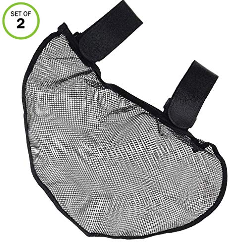 Evelots Stroller Net-Bag-Side Sling-Attach-Storage-Organizer-Baby Travel,Set/2