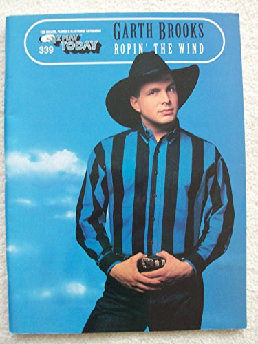 GARTH BROOKS ROPIN' THE WIND EZ Play Today for Organs Pianos & Electric Keyboards ()