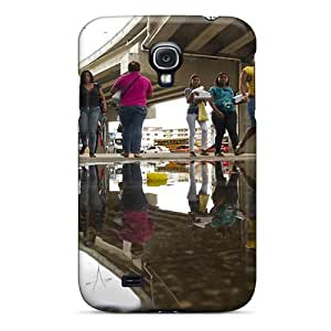Cute Appearance Cover/tpu BlRIIgQ5850nMMGW Dejctr 1016 City Night Image Refraction Case For Galaxy S4