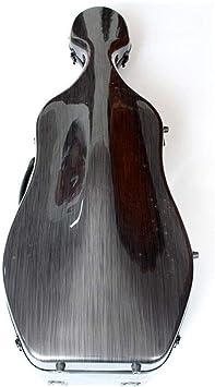 LVSSY-Violonchelo Negro Estuche para Violonchelo Mezcla de Fibra de Carbono Luz Estuche de Piano Accesorios para Instrumentos Musicales: Amazon.es: Deportes y aire libre