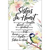 """Sisters In Heart Woodland Grace Series 6"""" x 9"""" Wood Plaque with Easel"""