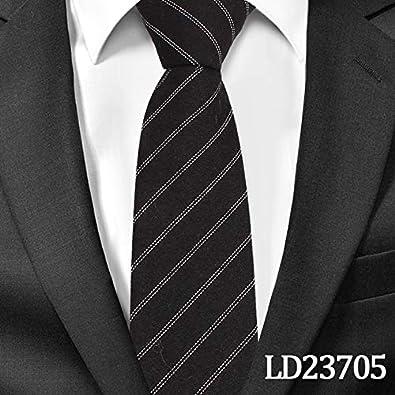 XIAMAZ Nueva Raya Clásica Diseño Único Corbata Moda para Hombre Corbata De Algodón Casual Corbata De Negocios Apretada Corbata De Hombre Corbata Hombre: Amazon.es: Joyería