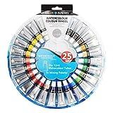 Daler Rowney simply watercolour colour wheel paint set of 24 tubes of 12ml colours