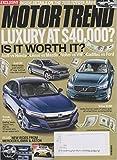 Motor Trend June 2018 Luxury at 40,000 Dollars? Is It Worth It?