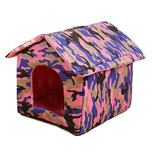 SinceY caseta para Perro, Nido Exterior portátil Impermeable de casa de Animal familier de caseta de Gato: Amazon.es: Productos para mascotas