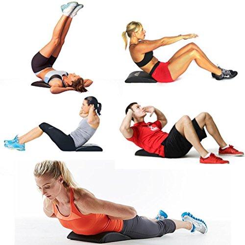 FidgetFidget Cushion Pad Sit Up Exercise Mat Abdominal Core Fitness Training Board