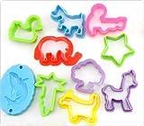 MAZIMARK-23pcs Play Dough Tool Playdough Polymer Clay Plasticine Mold Tools Set Kids Gift