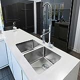 Ancona Prestige Series 50/50 Undermount Double Bowl Kitchen Sink