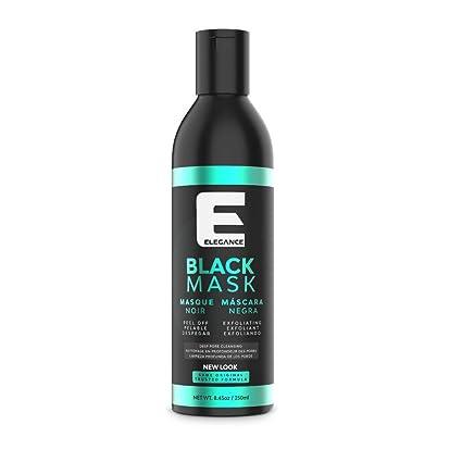 Elegance Black Peel-Off Facial Mask, Blackhead Removal Face Mask, Deep  Cleansing Facial Treatment, 8 45 oz