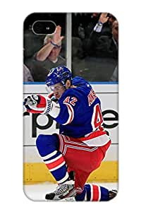 Storydnrmue Tpu Case For Iphone 4/4s With New York Rangers Hockey Nhl 92, Nice Case For Thanksgiving Day's Gift