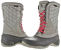 The North Face Thermoball Utility Boot - Women\'s Dove Grey/Calypso Coral 8