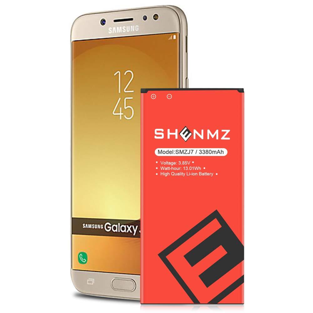 Bateria Celular Shenmz Galaxy J7 Prime Upgraded 3380mah Para Samsung Galaxy J7 2017 Ver Sm J727 J727 J727r4 J727t1 J7 Pr